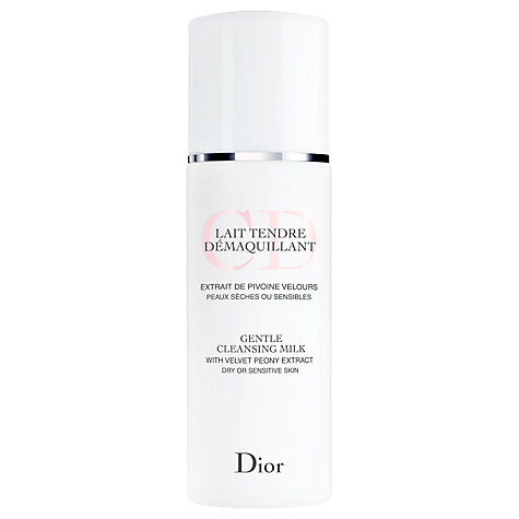 Buy Dior Gentle Cleansing Milk, 200ml Online at johnlewis.com