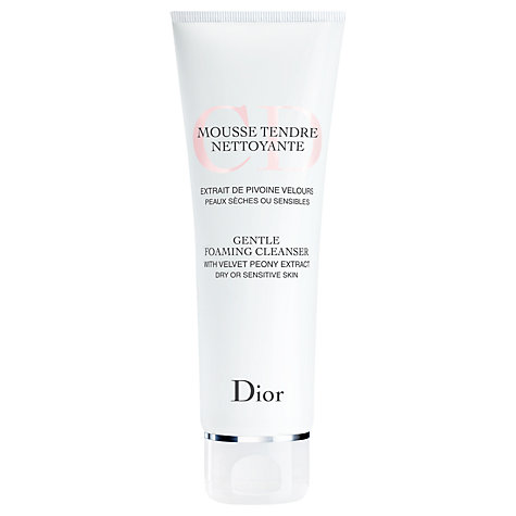 Buy Dior Gentle Foaming Cleanser, 125ml Online at johnlewis.com