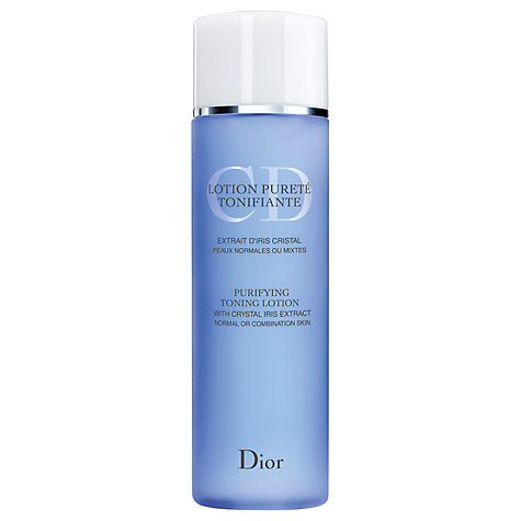 Buy Dior Purifying Toning Lotion, 200ml Online at johnlewis.com