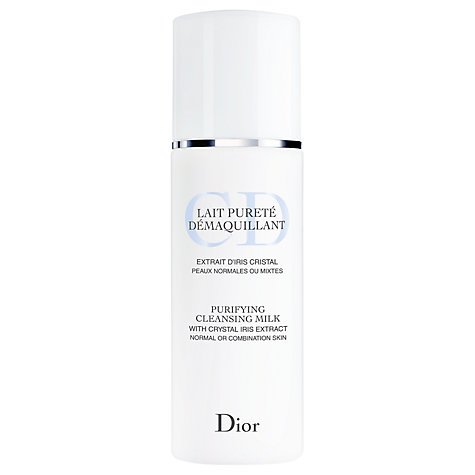 Buy Dior Purifying Cleansing Milk, 200ml Online at johnlewis.com