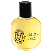 Buy Diptyque Satin Oil for Body and Hair, 100ml Online at johnlewis.com