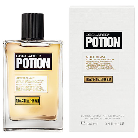Buy Dsquared2 Potion Aftershave Lotion Spray, 100ml Online at johnlewis.com