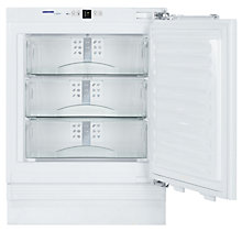 Buy Liebherr UIG1313 Integrated Freezer, A+ Energy Rating, 60cm Wide Online at johnlewis.com