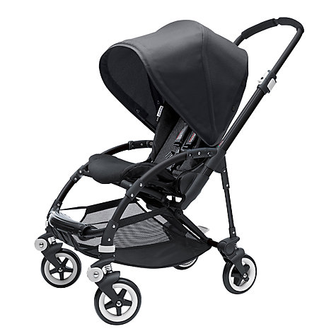 Buy Bugaboo Bee+, All Black, Special Edition Online at johnlewis.com
