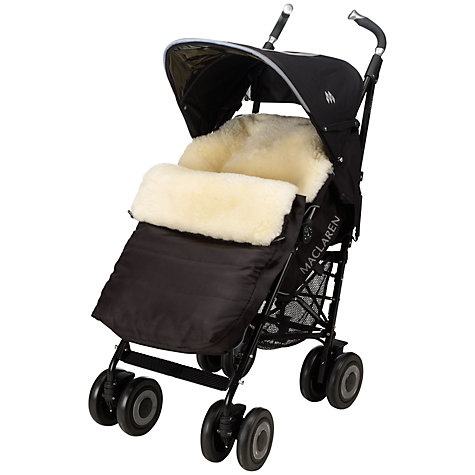 Buy John Lewis Sheepskin Footmuff Online at johnlewis.com