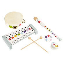 Buy Janod Confetti Percussion Set Online at johnlewis.com