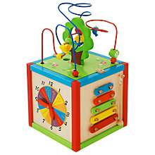 Buy East Coast Wooden Activity Cube Online at johnlewis.com