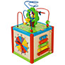East Coast Wooden Activity Cube