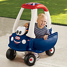 Buy Little Tikes Cosy Coupe, Union Jack Online at johnlewis.com