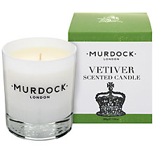 Buy Murdock London Vetiver Candle Online at johnlewis.com