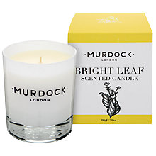 Buy Murdock London Bright Leaf Candle Online at johnlewis.com