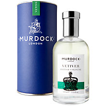 Buy Murdock London Colognes - Vetiver, 100ml Online at johnlewis.com