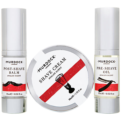 Buy Murdock London Shave Travel Set Online at johnlewis.com