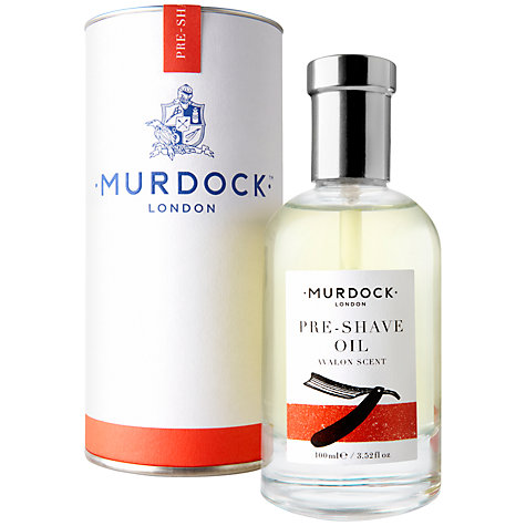 Buy Murdock London Pre-Shave Oil Online at johnlewis.com