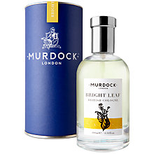 Buy Murdock London Colognes - Bright Leaf, 100ml Online at johnlewis.com