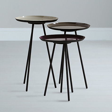 Buy Content by Conran Accents, Round Side Tables, Set of 3 Online at johnlewis.com