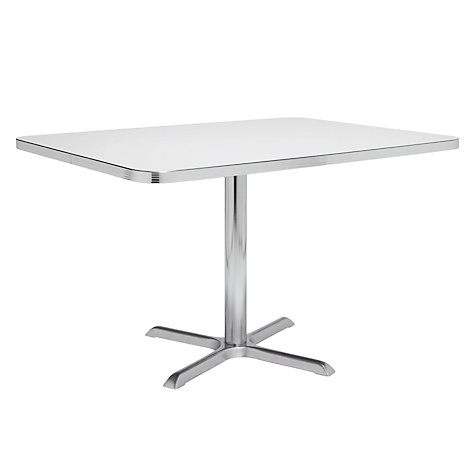 Buy Cola Red Lexington Classic 6 Seater Booth Table Online at johnlewis.com