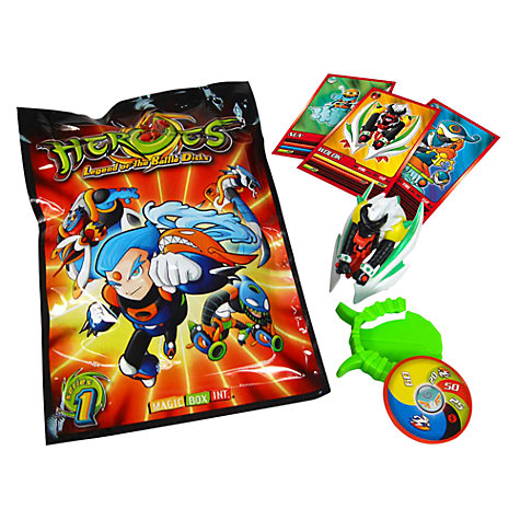 Buy Heroes: Legend of the Battle Disks Booster Pack Online at johnlewis.com