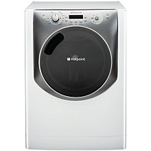 Buy Hotpoint Aqualtis AQ113F497E Washing Machine, 11kg Load, A+++ Energy Rating, 1400rpm Spin, White Online at johnlewis.com
