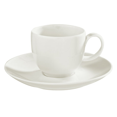 Buy House by John Lewis Espresso Cup, 85ml Online at johnlewis.com