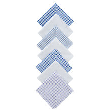 Buy John Lewis Designer Handkerchiefs, Pack of 7, Multi Online at johnlewis.com