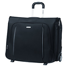 Buy Samsonite X'Blade 2-Wheel Garment Bag, Black Online at johnlewis.com