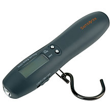 Buy Samsonite Digital Luggage Scale and Torch, Black Online at johnlewis.com