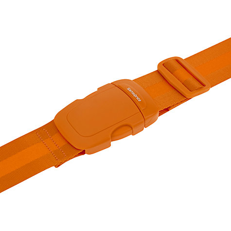 Buy Samsonite Luggage Strap, Orange Online at johnlewis.com