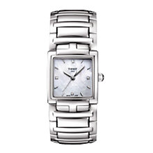 Buy Tissot T0513101111600 Women's T-Evocation Bracelet Watch, Silver Online at johnlewis.com