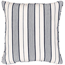 Buy John Lewis Dorset Stripe Cushion Cover, Blue Online at johnlewis.com