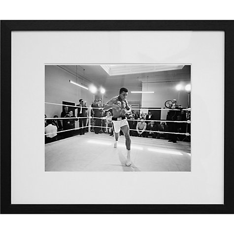 Buy Getty Images Gallery Ali In Training Framed Print, 50 x 57cm Online at johnlewis.com