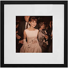 Buy Getty Images Gallery Audrey Hepburn Framed Print, 59 x 59cm Online at johnlewis.com