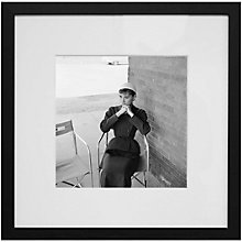 Buy Getty Images Gallery Audrey Hepburn 'Sabrina' Framed Print, 59 x 59cm Online at johnlewis.com