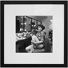 Buy Getty Images Gallery Marianne Faithful Backstage Framed Print, 94 x 94cm Online at johnlewis.com