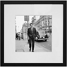 Buy Getty Images Gallery Warren Beatty In London Framed Print, 59 x 59cm Online at johnlewis.com