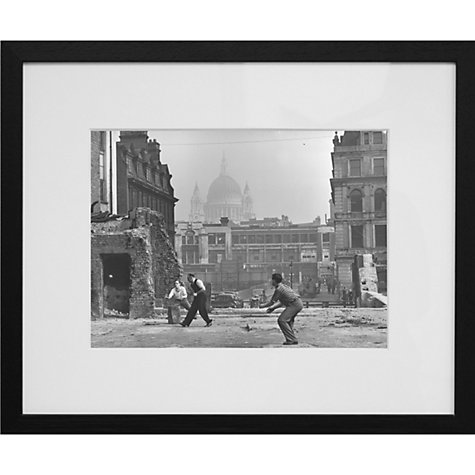 Buy Getty Images Gallery Cricket Framed Print, 56 x 65cm Online at johnlewis.com