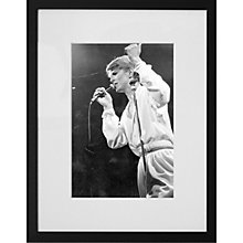 Buy Getty Images Gallery David Bowie at Earl's Court Framed Print, 57 x 50cm Online at johnlewis.com