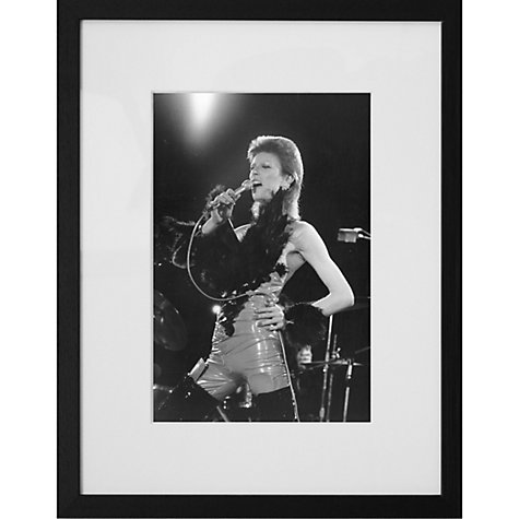 Buy Getty Images Gallery David Bowie 1973 Framed Print, 57 x 50cm Online at johnlewis.com
