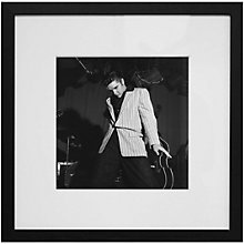 Buy Getty Images Gallery Elvis Presley Framed Print, 68 x 68cm Online at johnlewis.com