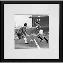 Buy Getty Images Gallery Last of Bobby Charlton Framed Print, 50 x 50cm Online at johnlewis.com
