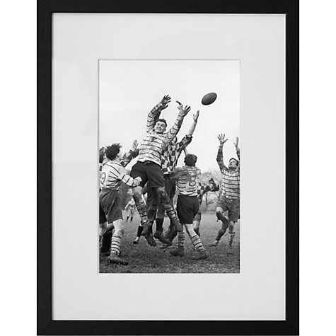 Buy Getty Images Gallery Line Out Framed Print, 57 x 50cm Online at johnlewis.com