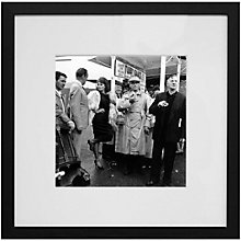 Buy Getty Images Gallery Sophia Loren on Location Framed Print, 68 x 68cm Online at johnlewis.com
