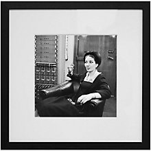 Buy Getty Images Gallery Maria Callas Framed Print Online at johnlewis.com