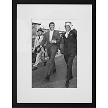 Buy Getty Images Gallery Martin & Sinatra Framed Print, 110 x 91cm Online at johnlewis.com