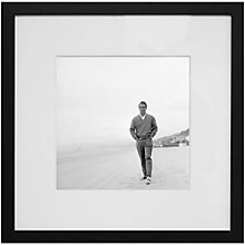 Buy Getty Images Gallery Paul Newman on The Beach Framed Print, 68 x 68cm Online at johnlewis.com