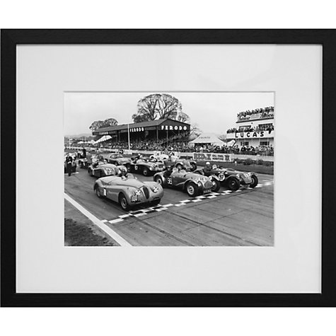 Buy Getty Images Gallery On The Grid Framed Print, 56 x 65cm Online at johnlewis.com