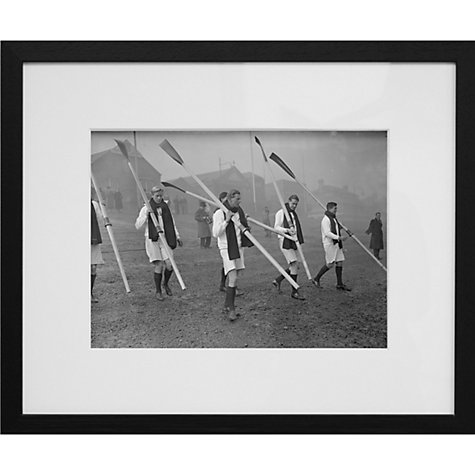Buy Getty Images Gallery Oxford University Rowing Crew Framed Print, 50 x 57cm Online at johnlewis.com