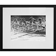Buy Getty Images Gallery Oxford University Rowers Framed Print, 50 x 57cm Online at johnlewis.com