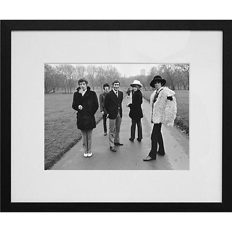 Buy Getty Images Gallery Rolling Stones 1967 Framed Print, 56 x 65cm Online at johnlewis.com