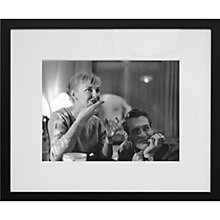Buy Getty Images Gallery Paul Newman & Joanne Woodward Framed Print, 50 x 57cm Online at johnlewis.com